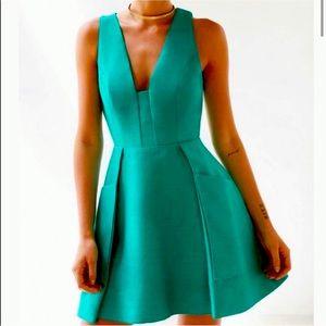 NWT C/MEO Nights Fit & Flare Dress